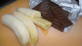 チョコバナナたい焼き