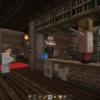 Western Log House by Minecraft