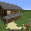 Japanese style shop made by Minecraft