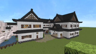 Japanese house by minecraft