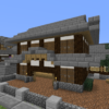 Japanese style Gate made by minecraft